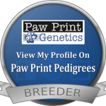 breeder_seal_sm.Paw print genetics